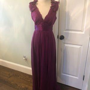 BCBG chiffon gown NWOT never worn